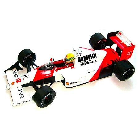 Ayrton Senna McLaren MP4/4 - World Champion 1998 1/12 Minichamps