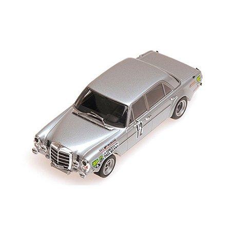 Mercedes 300 SEL 6.8AMG 12h Paul Ricard 1971 1/43 Minichamps