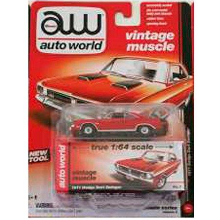 Dodge Dart Swinger 1971 1/64 Auto World