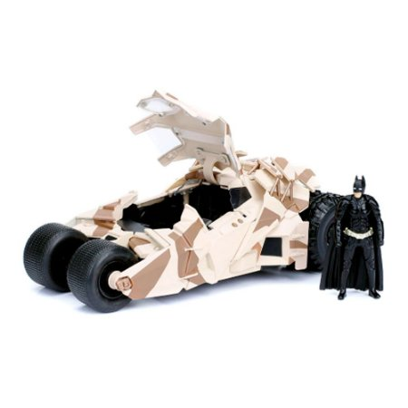 2008 Batmobile Dark Knight com Boneco 1/24 Jada Toys