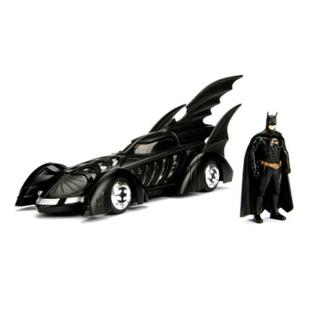 1995 Batmobile Forever com Boneco 1/24 Jada Toys