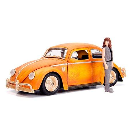 VW Fusca Bumblebee Transformes 6 com Boneco 1/24 Jada Toys