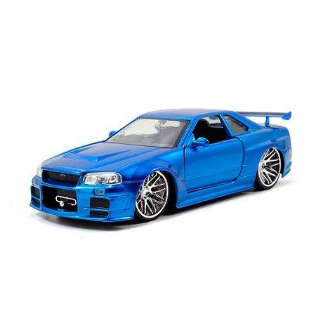 Miniatura 2002 Nissan Skyline GT-R R34 FF 1/24 Jada Toys