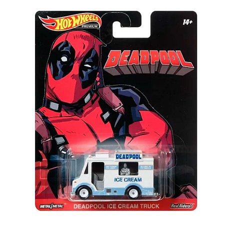 Deadpool Ice Cream Truck 1/64 Hot Wheels