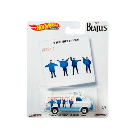 Custom GMC Panel Van The Beatles 1/64 Hot Wheels