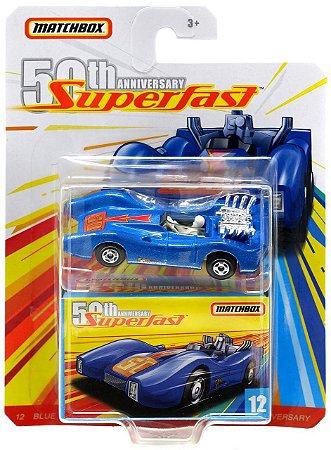 Blue Shark 12 Superfast 50th 1/64 Matchbox