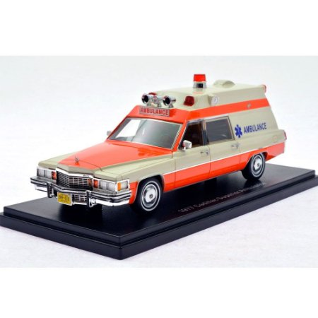 Cadillac Superior Ambulance 1977 1/43 Neo