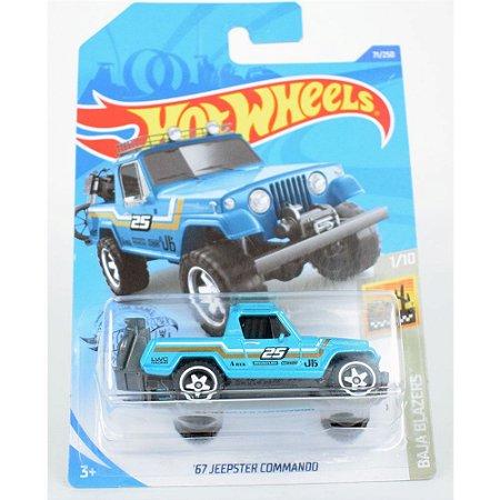 Miniatura 67' Jeepster Commando 1/64 Hot Wheels