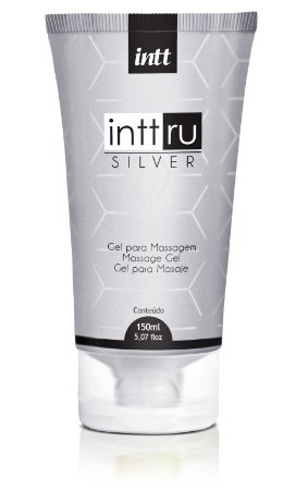 GEL PARA MASSAGEM INTT RU SILVER 150ML INTT