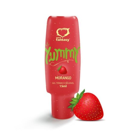 GEL TERMICO BEIJAVEL YUMMY 15ML MORANGO