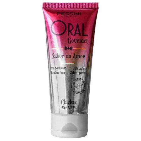 ORAL GOURMET CHICLETE 35ML