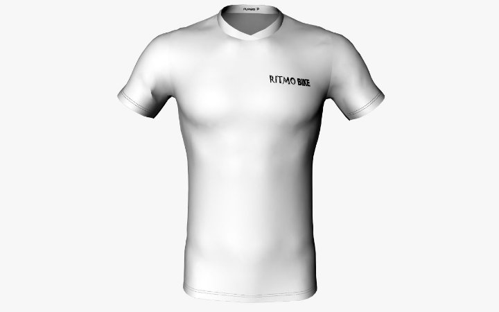 Camisa Casual Dry RB White 2018 Masc