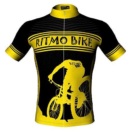 Camisa de Ciclismo RB Black 2018