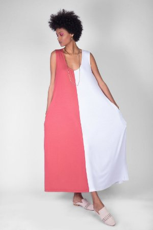 Vestido 2 Cores Modal V.19