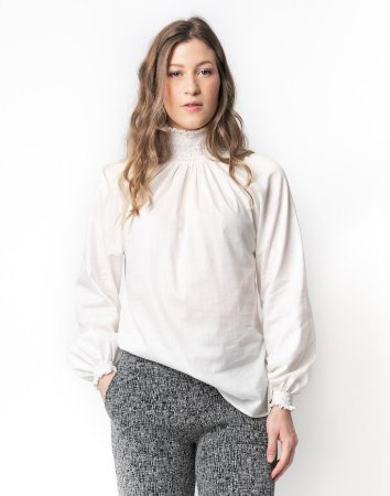 Camisa Gola Alta Algodão Inv.20