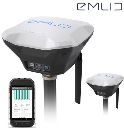 EMLID REACH RS + GNSS RTK Base e Rover