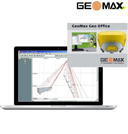 GeoMax Geo Office FULL Software de Escritório GNSS