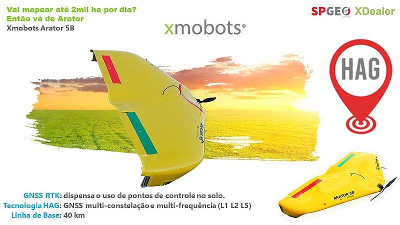 Xmobots Arator 5B HAG VANT Asa Fixa RTK