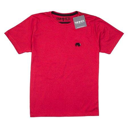d5354d63a Camiseta Básica - Masculino - Adulto - Summer - Vermelha - Top ...