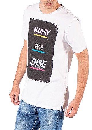 Camiseta Estampa Paradise Branca FORE007