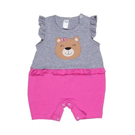 Body Patch Urso Mescla E Pink 003