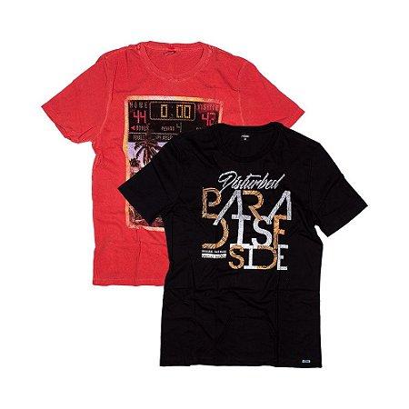 2 Camisetas Tamanho M KIT021