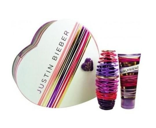 Kit Perfume Girlfriend By Justin Bieber 100ml