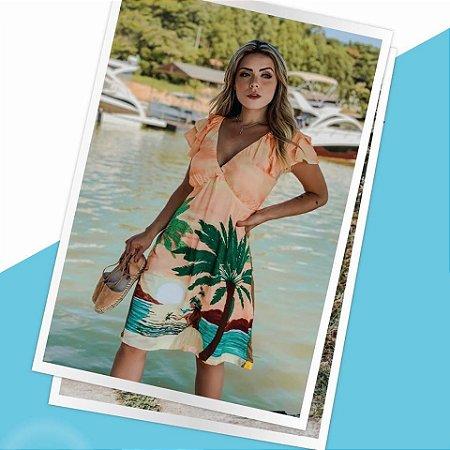 LHB Vestido Paisagem de Praia