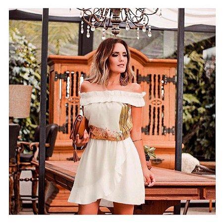LHB Vestido Off White Espantalhos