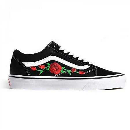 dcf21e006 Tênis Vans Old Skool Black Rose (Original) - Localtenis Skate Shop