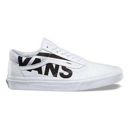 Tênis Vans Old Skool Branco e Preto (Original) - Localtenis Skate Shop dc87d22d1636d