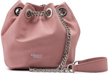 Bucket Bag Beatriz | Couro Napa Rosé