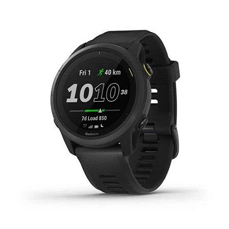 Monitor Cardíaco de Pulso com GPS Garmin Forerunner 745 Preto