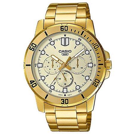 Relógio Casio Collection Masculino MTP-VD300G-9EUDF