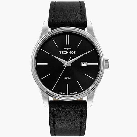 Relógio Technos Masculino Classic Steel 2115MXU/0P