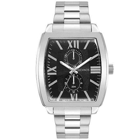 Relógio Technos Masculino GrandTech 6P23AN/1P