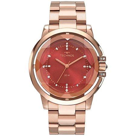 Relógio Technos Feminino Elegance Crystal 2036MLN/4R