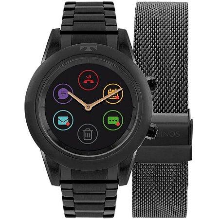 Relógio Smartwatch Technos Connect Duo Feminino P01AD/4P - Troca Pulseira