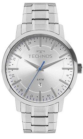 Relógio Technos Classic Steel Masculino 2115MMJ/0B