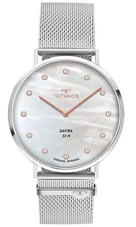 Relógio Technos Feminino Slim 2025LTL/1B Safira