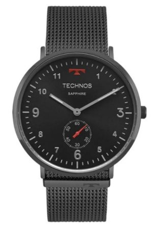Relógio Unissex Technos Slim Vidro De Safira 1L45AW/4P