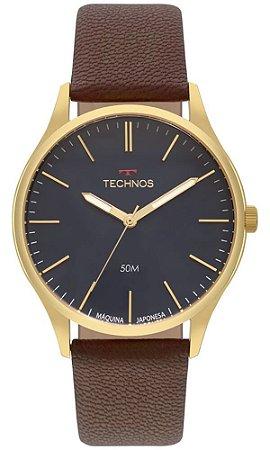 Relógio Technos Classic Steel Masculino 2035MQR/2A