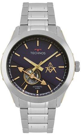 Relógio Technos Automático Masculino 82S0AEM/1A