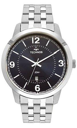 Relógio Technos Masculino Steel 2115MTG/1A