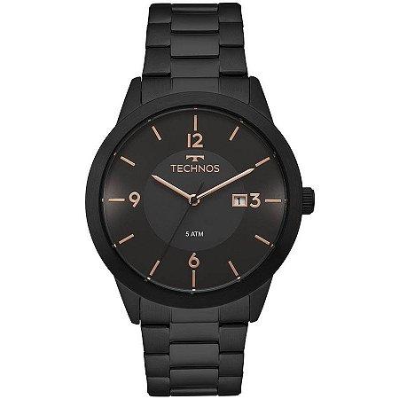 Relógio Technos Masculino Classic Steel 2115MOH/4P