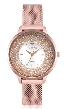 Relógio Technos Feminino Crystal 2035MQB/5K