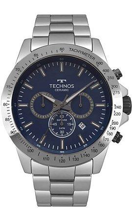 Relógio Technos Masculino Ceramic/Saphire JS25BT/4A