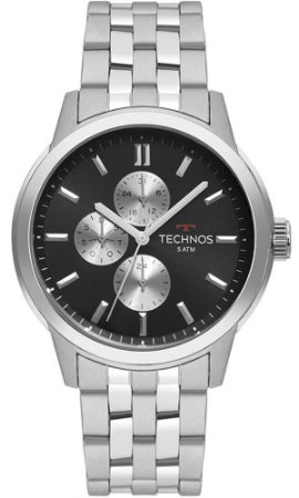 Relógio Technos Masculino GrandTech 6P27DS/1C