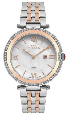 Relógio Technos Feminino bicolor St. Moritz GL15AV/5B