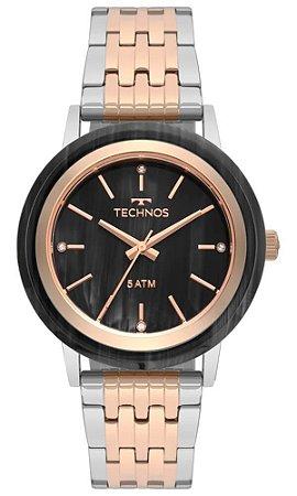 Relógio Technos Feminino Unique bicolor 203AAD/5P